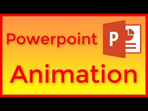 How to animate an object in Powerpoint 2016 - Tutorial
