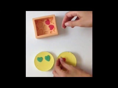 Emoji soap - how to make 21 century soap gift