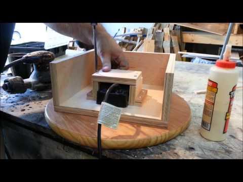 How to make a display that rotates!