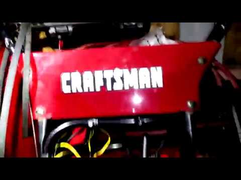 How to Easy drive belt Replacement Craftsman snow blower