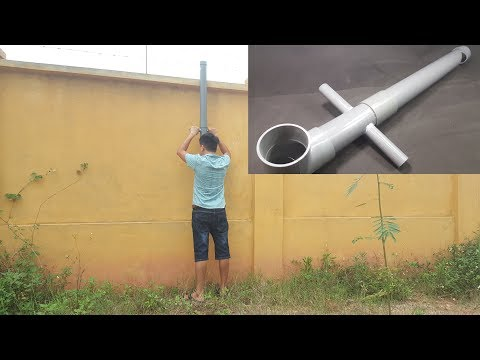 How to make a Periscope using PVC Pipe - Simple Submarine Binoculars