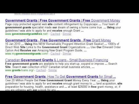 Receive Free Grant Money At GovernmentGrantMania.com