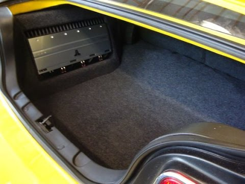 How To Make A Custom Amp Rack For Your Cars Interior