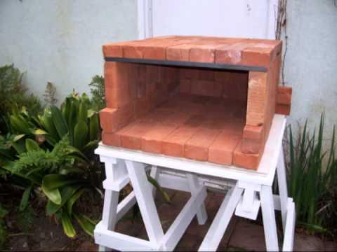 Back Yard Brick Oven