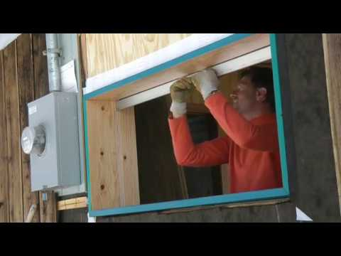 Window that slides into the wall - pocket window?