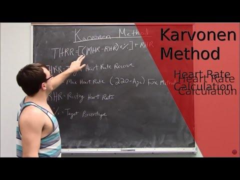 Karvonen Method:Target Heart Rate!