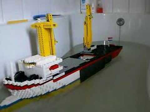 rc lego boat