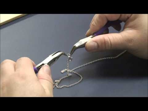 How to make a basic necklace-Jewelry Making Video Beadunion
