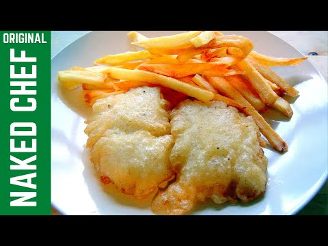 FISH & CHIPS crispy batter with Fizzy water How to make recipe