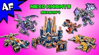 Every Lego Nexo Knights Season 4 Set - Complete Collection!