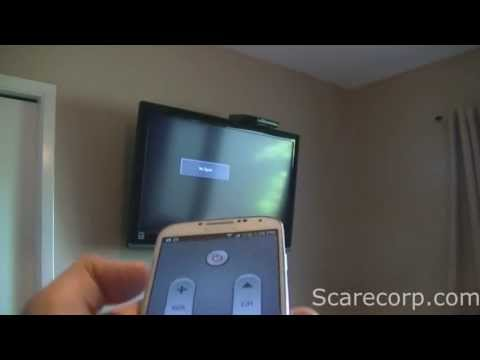 Setup Galaxy S4 as a Universal Remote