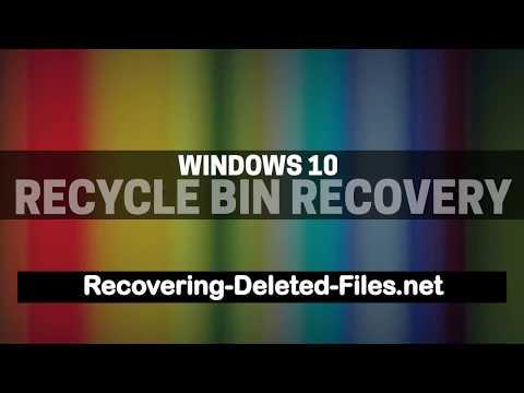 Windows 10 Recycle Bin Recovery