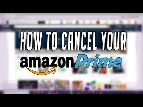 How To Cancel Your Prime Membership or Twitch Prime! Very Easy and Simple! TechnoTrend