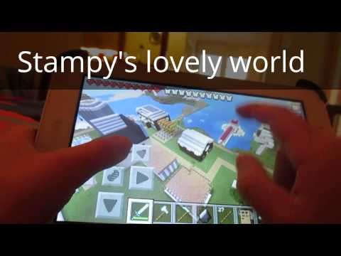 How to install Stampy's Lovely World-Minecraft PE