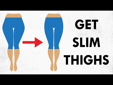 How To Get Slim Thighs FAST | 6 Minute Thigh Fat Burning Workout (At Home)