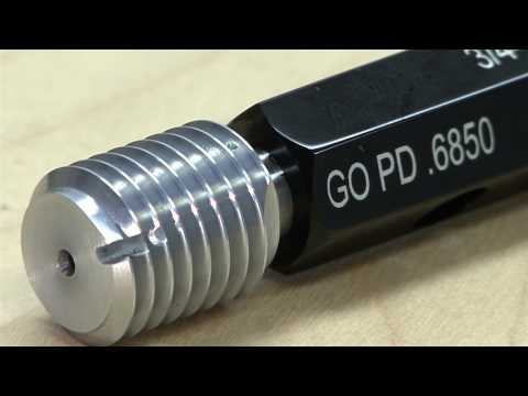 How To Use Thread Plug Gages   Technical Series 101
