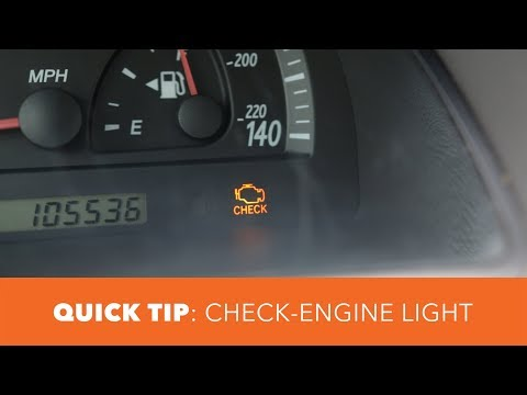 Check Engine Light - Quick Tip