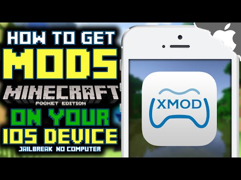 MCPE: How To Get MODS in Minecraft Pocket Edition! (JAILBREAK) (NO COMPUTER) iPhone iPad iPod Touch