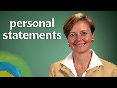#GradSchool101 - Personal Statements and Recommendations