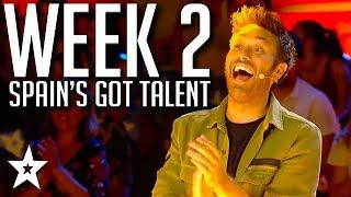 Spain's Got Talent 2021 AUDITIONS | WEEK 2 | Got Talent Global