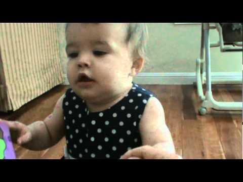 Evil Baby BITES Her Sister's Leg to Get Revenge for Stealing Her Book