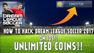 How to HACK DREAM LEAGUE SOCCER 2017 on IOS!! | UNLIMITED COINS!!!