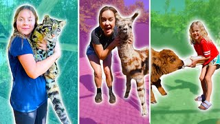 UP CLOSE ENCOUNTER WITH WILD ANIMALS!! **BEHIND THE SCENES**