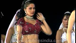 Madhuri Dixit - Bollywood actress does a dance shoot
