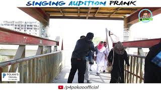 | SINGING AUDITION PRANK | By Nadir Ali In | P4 Pakao | 2017