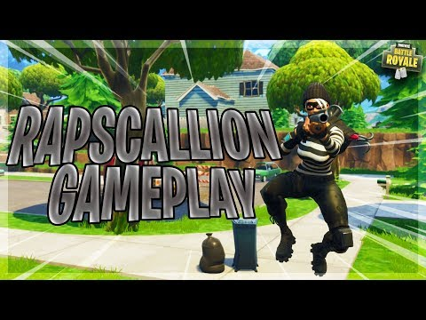 *NEW* 'RAPSCALLION' SKIN GAMEPLAY + CRAZY BUILD BATTLE (Fortnite Battle Royale)
