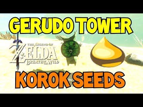Gerudo Tower Korok Seed