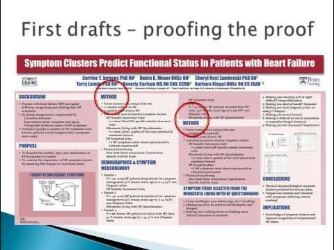 How to Prepare Scientific Abstracts and Posters