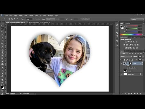 How to Fill a Shape with a Photo in Adobe Photoshop_2