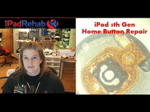 iPod 5th Generation Home Button Repair---button only transfer