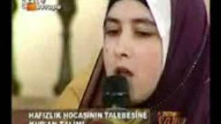 A Turkish Girl Reciting Surah Fatiha.mp4