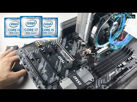 $1000 Ultimate PC - Z370 for Intel's 8th Generation Coffee Lake - Time lapse build PC 2017