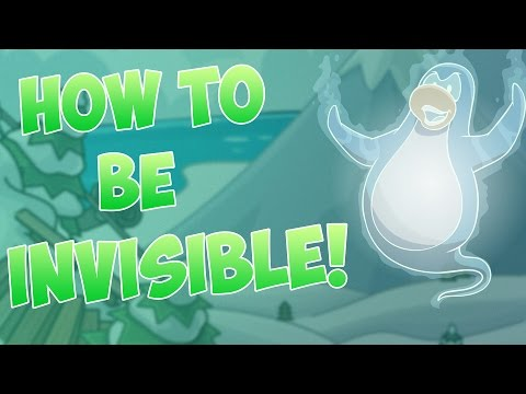 Club Penguin: How to be INVISIBLE!