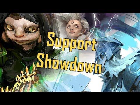 Guild Wars 2 - The Support Showdown! (Guard V. Rev V. Druid V. Scourge V. Tempest)