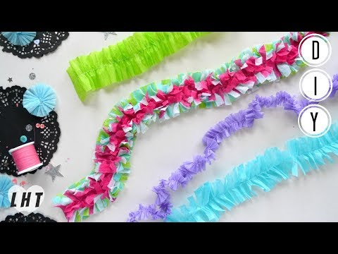 How to Make Ruffled Crepe Paper - Little Hot Tamale - Crepe Paper Crafts - Build Your Stash