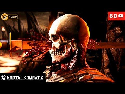 Mortal Kombat X All Brutalities Brutality HD 1080p 60fps Todos los Personajes