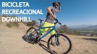 Test #2 - Downhill Con Bicicleta Recreacional De Mtb!