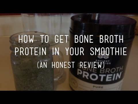 Getting Bone Broth Protein in Your Diet