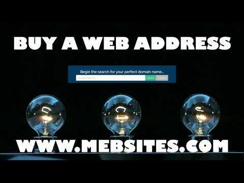 Buy A Web Address - [BUY] Domain Name Gold Coast