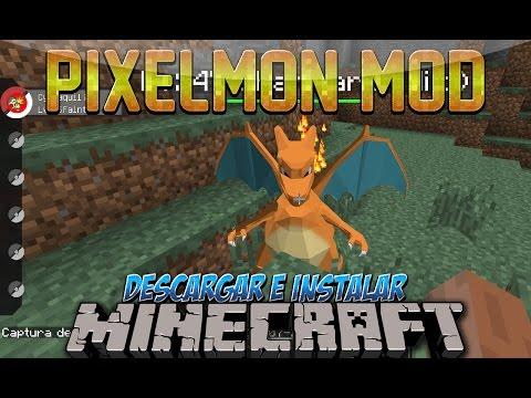 Minecraft 1.10.2/1.8/1.7.10/1.7.2 - Descargar E Instalar Pokemon MOD (Pixelmon Mod, Pokemons)