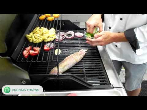 Grilled Pork Tenderloin: Chef Dennis Berry at Culinary Fitness | Healthy Cooking Videos