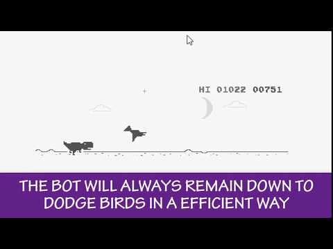 Making Google's Dinosaur Bot (PYTHON) || Part 3 || How to make a bot for any game in Python