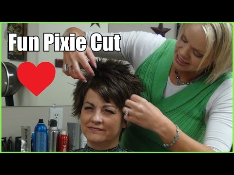 (Pixie Haircuts for Older Women) How to Style a Pixie cut and Hairstyle