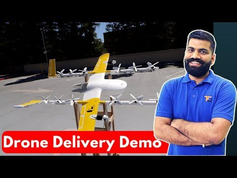 Google Project Wing - Drone Delivery with Demo at X Factory