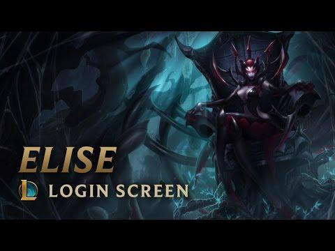 Elise, the Spider Queen | Login Screen - League of Legends