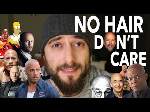 NO HAIR DON'T CARE - my struggle with Male Pattern Baldness